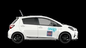 Omago oy yhteiskäyttöauto Riisula